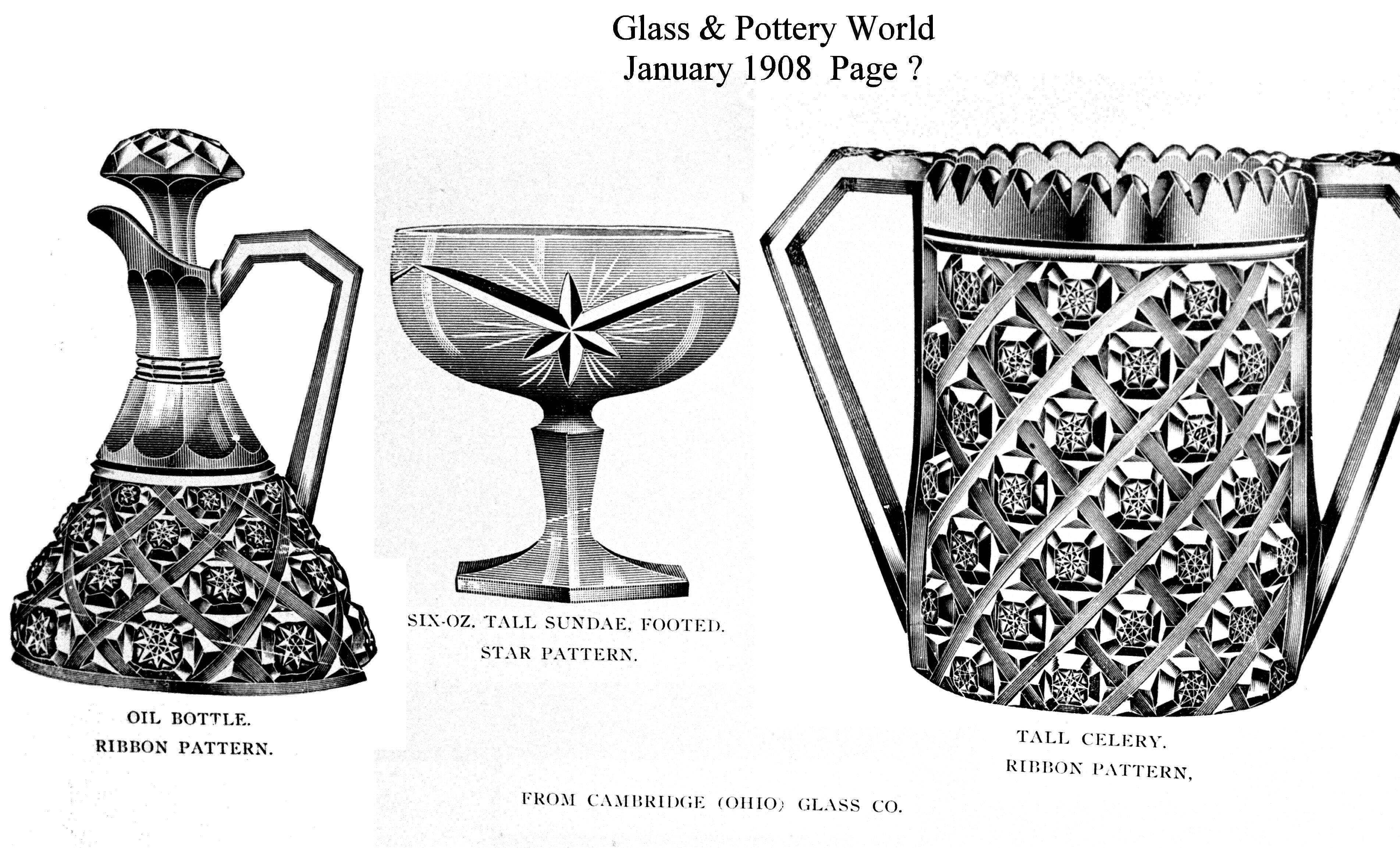 Glass and Pottery World   Miami Valley Study Group of
